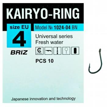 """Крючок одинарный """"Kairyo-ring"""""""