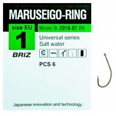 """Крючок одинарный """"Maruseigo-ring"""""""