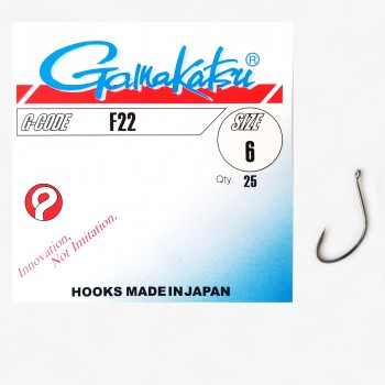"""Рыболовные крючки """"Gamakatsu"""" F22"""
