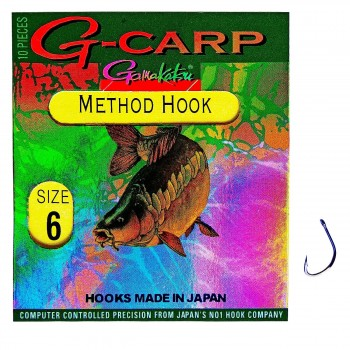 "Крючок одинарный ""Gamakatsu"" Method Hook #6"