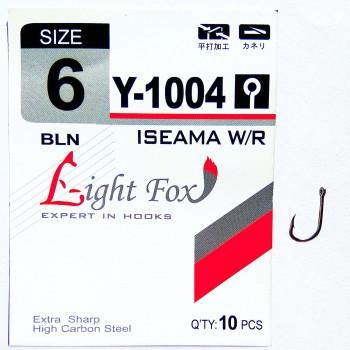 """Рыболовные крючки """"Light-Fox""""  Y-1004"""