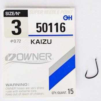 """Крючок одинарный """"OWNER"""" Kaizu"""