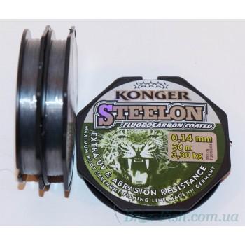 Флюорокарбоновая леска Steelon 0.08 - 0.25 мм 30 м