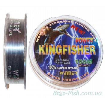 Леска Kingfisher 0.18 - 0.60 мм 100 м Winner