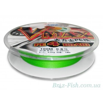 Рыболовный шнур Vmax Pe