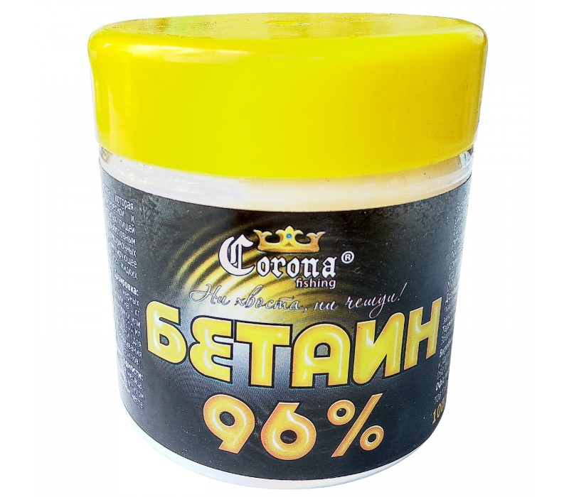 бетаин в прикормке для рыб