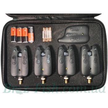 Набор сигнализаторов поклёвки с пейджером Dr.Agon JY–10