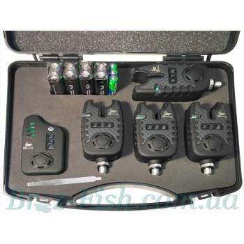 Набор сигнализаторов поклёвки Shark TLI-22